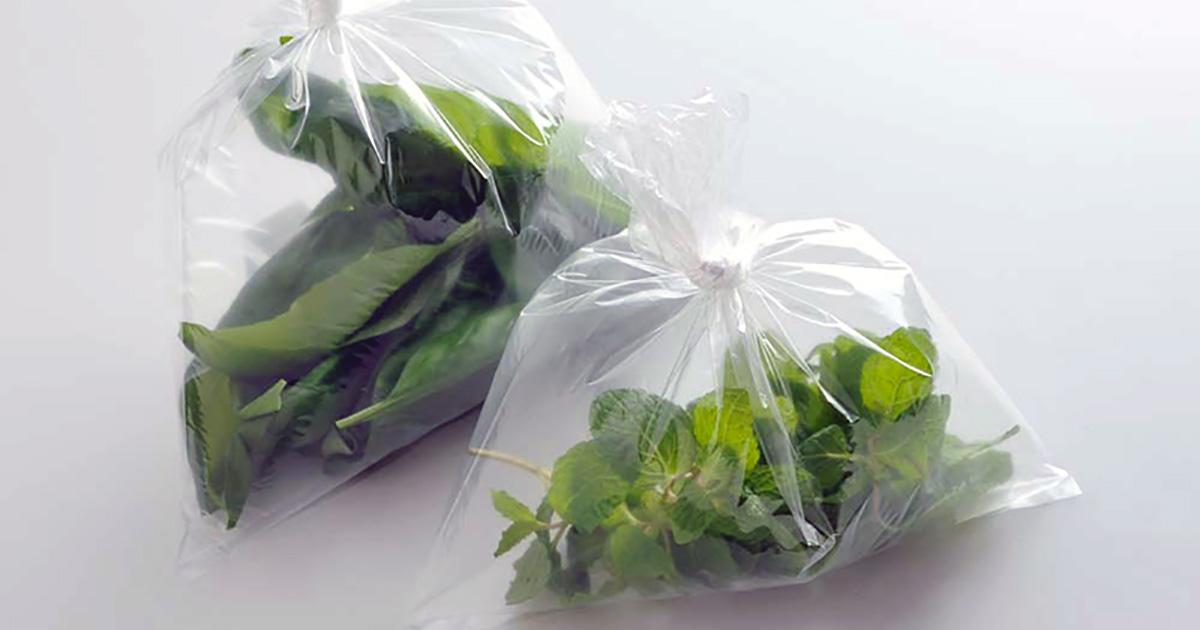 【加工食品】基本はラップと保存袋の二重密閉。消費・賞味期限に使い切るのが原則